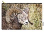 Bighorn Sheep In Field Carry-all Pouch