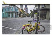 Bike And 3 Georges In Mobile Alabama Carry-all Pouch