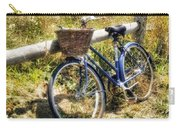 Bike At Nantucket Beach Carry-all Pouch