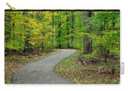 Bike Path Carry-all Pouch by Frozen in Time Fine Art Photography