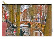 Bikes And Canals Carry-all Pouch