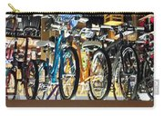 Bikes Hanging Around Carry-all Pouch
