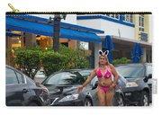 Bikini Bunny In Miami Carry-all Pouch