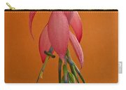 Bilbergia  Windii Blossom Carry-all Pouch by Heiko Koehrer-Wagner