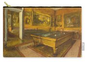 Billiard Room At Menil-hubert Carry-all Pouch