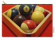 Billiards - 9 Ball - Pool Table - Nine Ball Carry-all Pouch