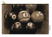 Billiards Art - Your Break - Bw Opal Carry-all Pouch