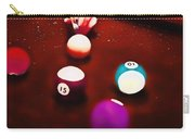 Billiards Art - Your Break Red Carry-all Pouch