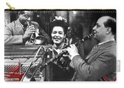 Billie Holiday Louis Armstrong Barney Bigard  New Orleans Set 1947-2010  Carry-all Pouch