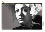 Billie Holiday Singer Song Writer No Date-2014 Carry-all Pouch
