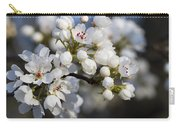 Billows Of Fluffy White Bradford Pear Blossoms Carry-all Pouch