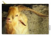 Billy Goat Gruff Carry-all Pouch by Karen Wiles