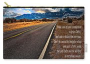 Billy Graham Quote Guidance Carry-all Pouch