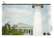 Biloxi Lighthouse Sketch Photo Carry-all Pouch