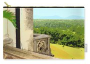 Biltmore Balcony Asheville Nc Carry-all Pouch by William Dey