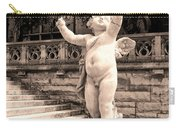 Biltmore Cherub Asheville Nc Carry-all Pouch by William Dey