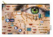Bionic Man Carry-all Pouch by Semmick Photo
