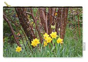Birch And Daffiodils Carry-all Pouch