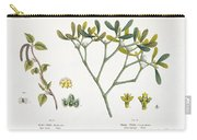 Birch And Mistletoe Carry-all Pouch