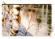 Birch By Stream Carry-all Pouch