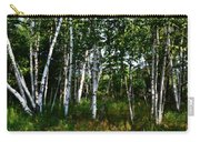 Birch Grove In The Sunlight Carry-all Pouch