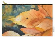 Birch Leaves Carry-all Pouch