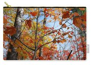 Birch Maple Autumn Carry-all Pouch