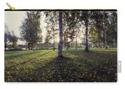 Birch Trees, Imatra, Finland Carry-all Pouch