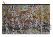 Birch Trees In Fall Carry-all Pouch