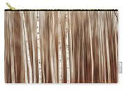 Birches In Motion Carry-all Pouch