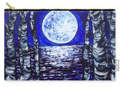 Birches With Shining Water Carry-all Pouch