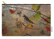 Bird And Berries Carry-all Pouch