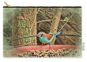 Bird And Feeder Carry-all Pouch