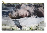 Bird And Hippo Carry-all Pouch
