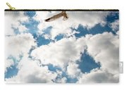 Bird And The Clouds Carry-all Pouch