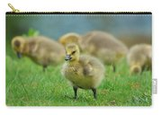 Bird - Baby Goose -leader Of The Pack Carry-all Pouch