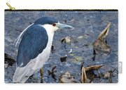 Bird - Black Crowned Night Heron Carry-all Pouch
