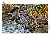 Bird By The Water Carry-all Pouch