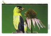 Bird Eating Seeds Carry-all Pouch