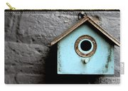 Bird House Of Blue By Diana Sainz Carry-all Pouch