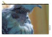 Bird In Blue Dress Carry-all Pouch