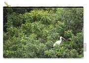 Bird In Bush Carry-all Pouch