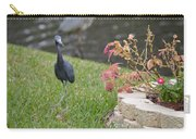 Bird In Yard Carry-all Pouch