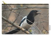 Bird Magpie Carry-all Pouch