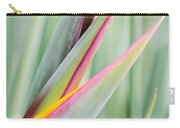 Bird Of Paradise Flower Bud Carry-all Pouch