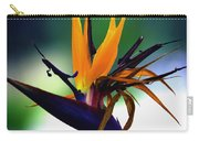 Bird Of Paradise Flower - Square Carry-all Pouch