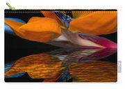 Bird Of Paradise Reflective Pool Carry-all Pouch