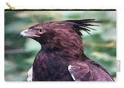 Bird Of Prey In Watercolor Carry-all Pouch