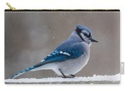 Bird On A Fence Carry-all Pouch