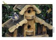 Bird On A House Carry-all Pouch